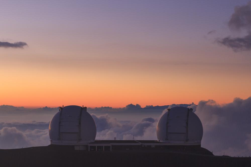 Sunset in Mauna Kea