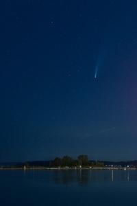 C/2020 F3 (NEOWISE) Everett marina